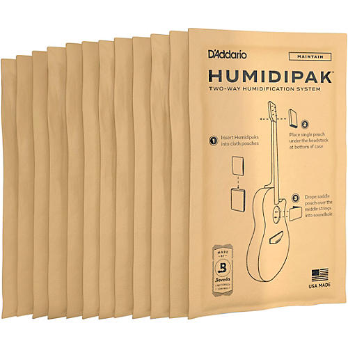 D'Addario Planet Waves HuMIDIpak Replacement Packs (Four 3-Packs)