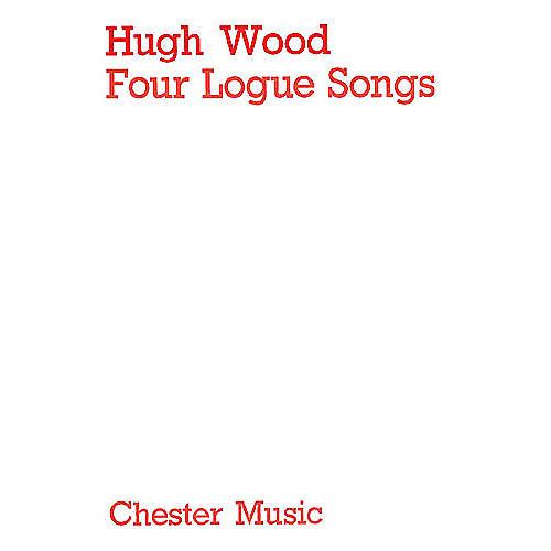 Music Sales Hugh Wood: 4 Songs Op.2 (Score) Music Sales America Series