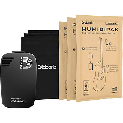 D'Addario Planet Waves Humidikit - Humiditrak / Humidipak Bundle