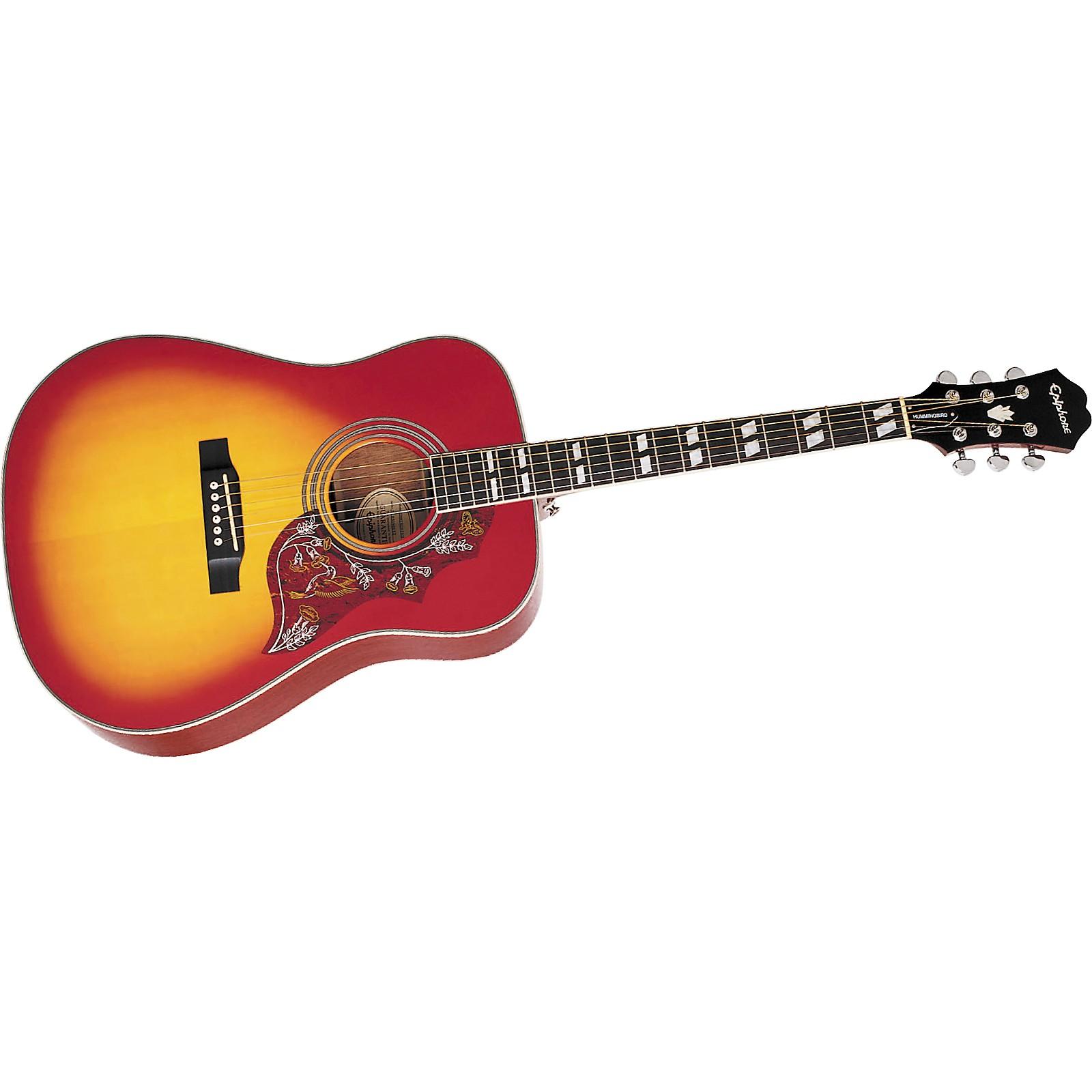 Epiphone Hummingbird Acoustic Guitar