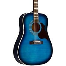 Hummingbird Artist Acoustic Guitar Blueburst