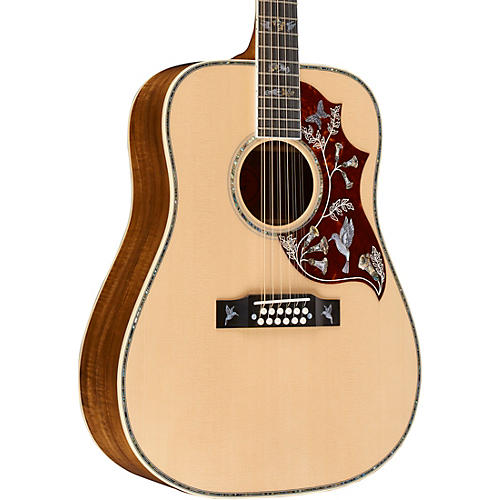 gibson hummingbird custom 12 string acoustic electric guitar musician 39 s friend. Black Bedroom Furniture Sets. Home Design Ideas