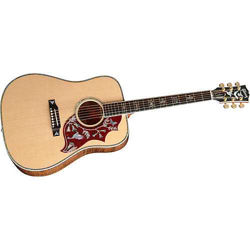gibson hummingbird custom koa acoustic guitar musician 39 s friend. Black Bedroom Furniture Sets. Home Design Ideas