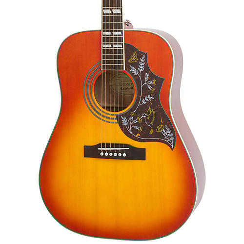 Epiphone Hummingbird Studio Acoustic-Electric Guitar Condition 2 - Blemished Faded Cherry 194744314605