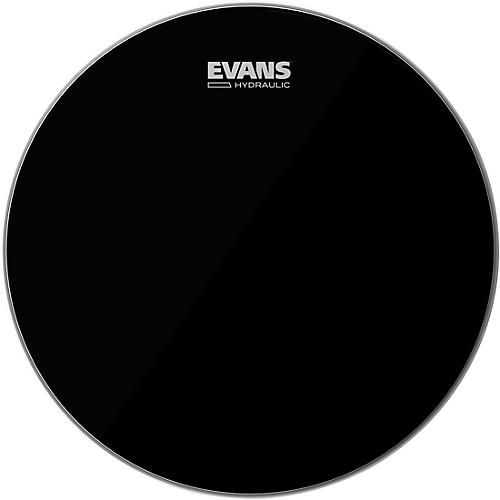 Evans Hydraulic Black Tom Batter Drumhead