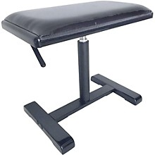 Open BoxStagg Hydraulic Piano Bench with Black Velvet Top