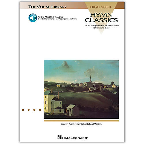 Hal Leonard Hymn Classics for High Voice (Book/Online Audio)