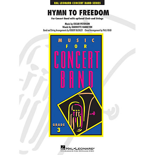 Hal Leonard Hymn to Freedom Concert Band Level 3 arranged by Paul Read