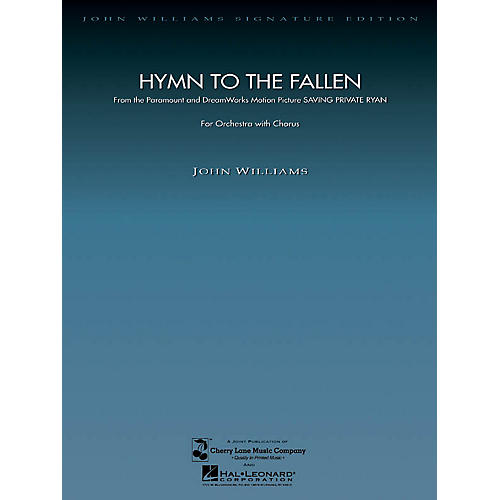 Hal Leonard Hymn to the Fallen (from Saving Private Ryan) (40 Choral Parts) Composed by John Williams
