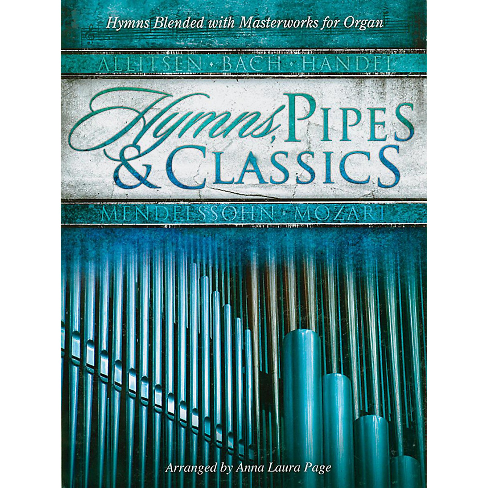 Alfred Hymns, Pipes and Classics for Organ Book