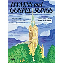 SCHAUM Hymns and Gospel Songs Educational Piano Book (Level Inter)