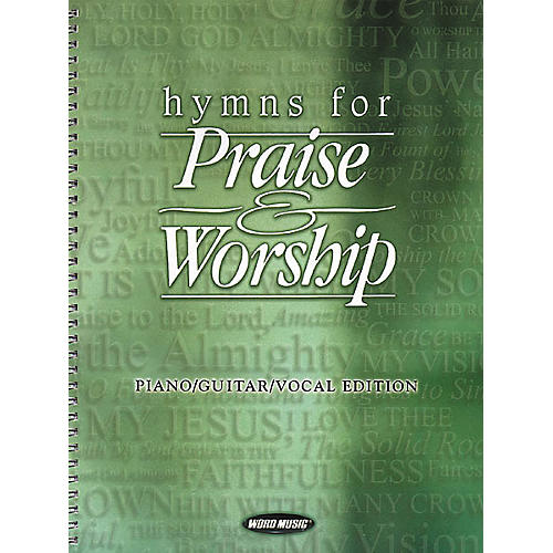 Word Music Hymns for Praise and Worship Piano/Vocal/Guitar Songbook