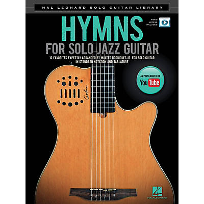 Hal Leonard Hymns for Solo Jazz Guitar (Hal Leonard Solo Guitar Library) Guitar Solo Series Softcover Video Online