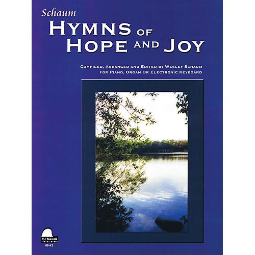SCHAUM Hymns of Hope and Joy Educational Piano Book (Level Elem)