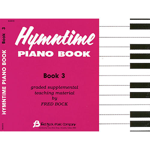 Fred Bock Music Hymntime Piano Book #3 Children's Piano Arranged by Fred Bock