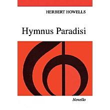 Novello Hymnus Paradisi SATB Composed by Herbert Howells