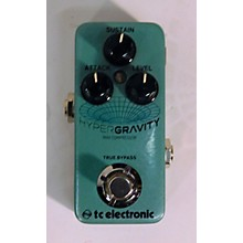 TC Electronic HyperGravity Compressor Mini Effect Pedal