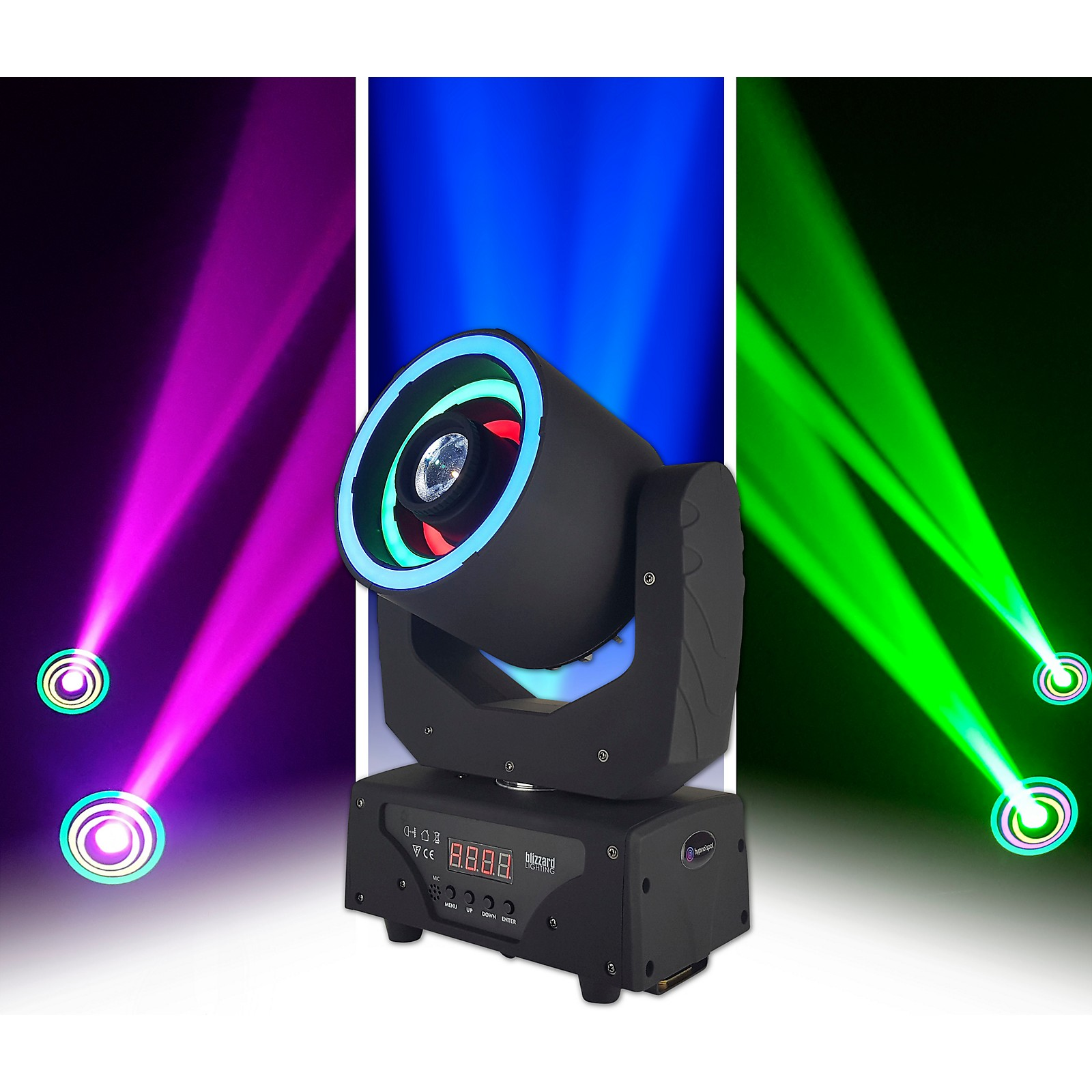 Blizzard Hypno Spot Moving Head LED Spotlight Fixture