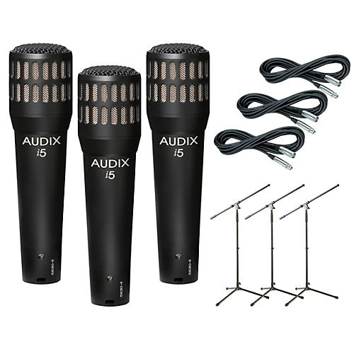I-5 Mic with Cable and Stand 3 Pack