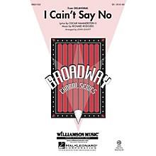 Hal Leonard I Cain't Say No (from Oklahoma) SA arranged by John Leavitt