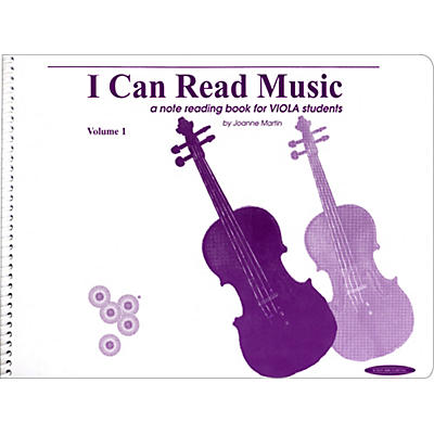 Alfred I Can Read Music for Viola, Volume 1 Book