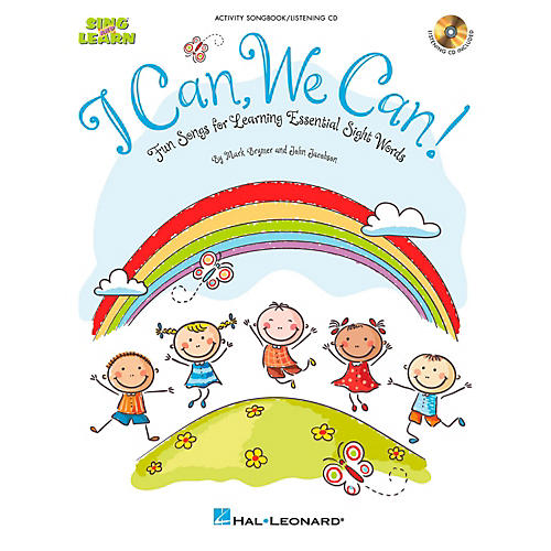 Hal Leonard I Can, We Can!  Fun Songs for Learning Essential Sight Words Book/CD