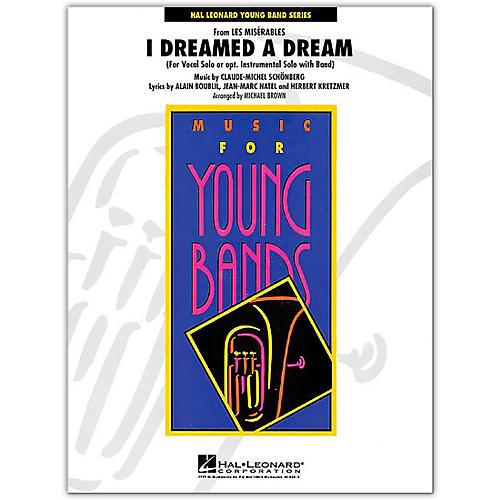 Hal Leonard I Dreamed A Dream Band Set & Score