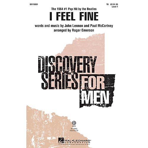 Hal Leonard I Feel Fine (Discovery Level 1 TB) TB by The Beatles arranged by Roger Emerson