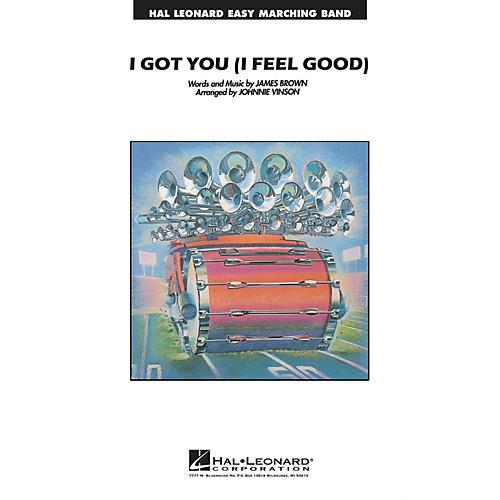 Hal Leonard I Got You (I Feel Good) Marching Band Level 2-3 Arranged by Johnnie Vinson