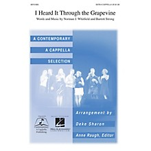 Contemporary A Cappella Publishing I Heard It Through the Grapevine SATB a cappella by Marvin Gaye arranged by Deke Sharon