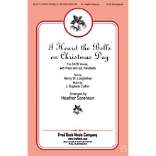 Fred Bock Music I Heard the Bells On Christmas Day REHEARSAL CD Arranged by Heather Sorenson