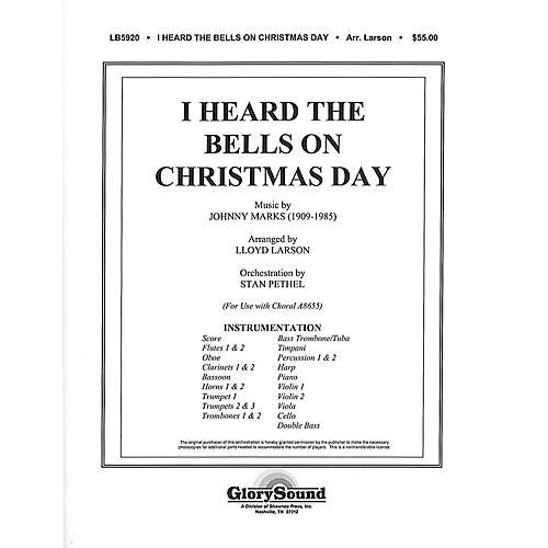Shawnee Press I Heard the Bells on Christmas Day INSTRUMENTAL ACCOMP PARTS arranged by Lloyd Larson