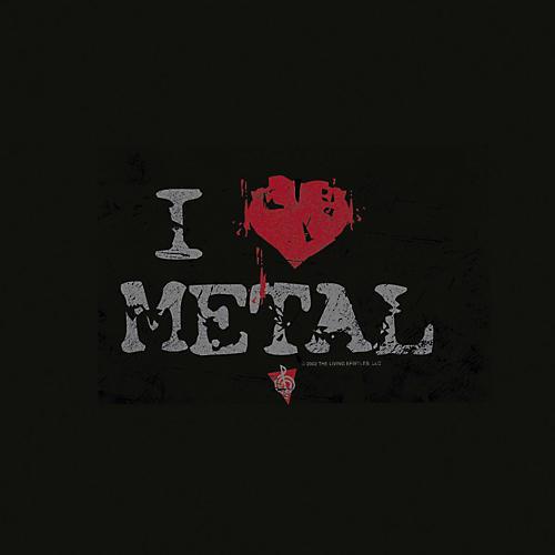 Musician's Friend I Heart Metal T-Shirt