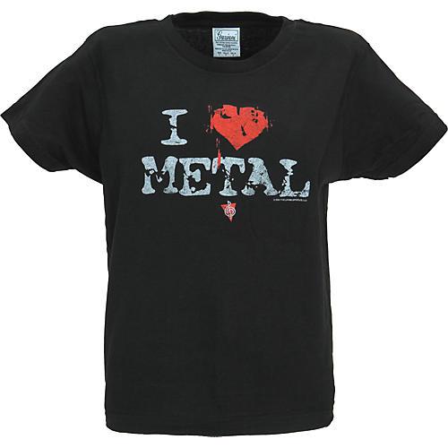 Musician's Friend I Heart Metal Women's T-Shirt