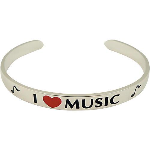 AIM I Love Music Cuff Bracelet