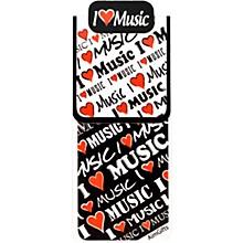 AIM I Love Music Magnet Bookmark