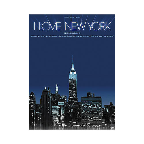 Hal Leonard I Love New York Piano/Vocal/Guitar Songbook