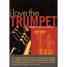 Hal Leonard I Love The Trumpet - Warren Vache, Instructor