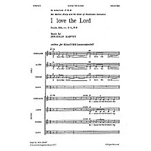 Novello I Love the Lord SSAATTBB Composed by Jonathan Harvey