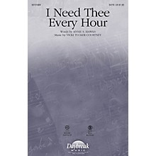 Daybreak Music I Need Thee Every Hour SATB composed by Vicki Tucker Courtney