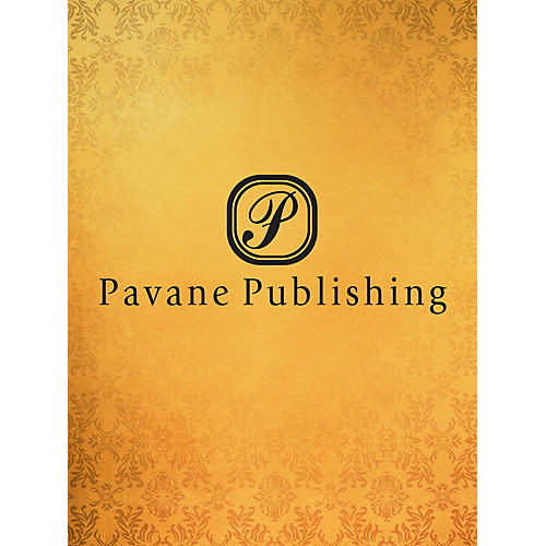 Pavane I Place My Trust in You SATB Arranged by Allan Robert Petker
