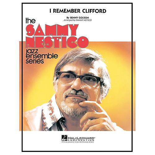 Hal Leonard I Remember Clifford Jazz Band Level 4 Arranged by Sammy Nestico