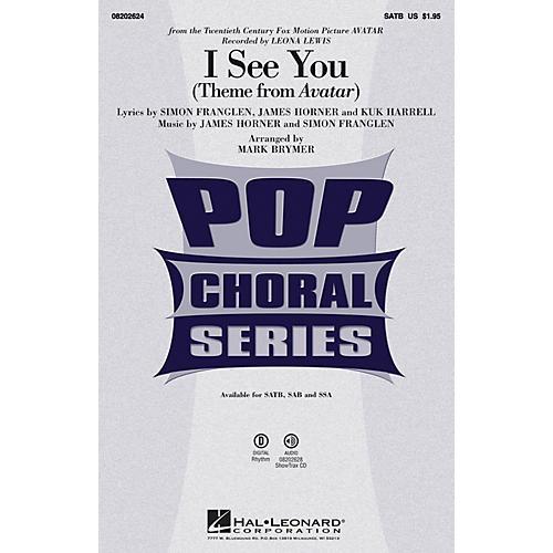Hal Leonard I See You SAB by Leona Lewis Arranged by Mark Brymer