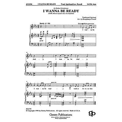 Raymond A. Hoffman Co. I Wanna Be Ready SATB arranged by Rosephanye Powell
