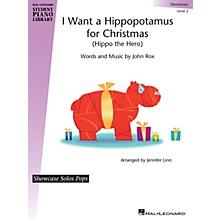 Hal Leonard I Want a Hippopotamus for Christmas Piano Library Series (Level Elem)