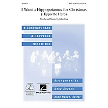 Contemporary A Cappella Publishing I Want a Hippopotamus for Christmas SATB a cappella arranged by Deke Sharon