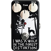 Open Box Animals Pedal I Was A Wolf In The Forest Distortion Effects Pedal