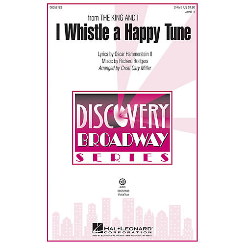 Hal Leonard I Whistle a Happy Tune (from The King and I Discovery Level 1) VoiceTrax CD by Cristi Cary Miller