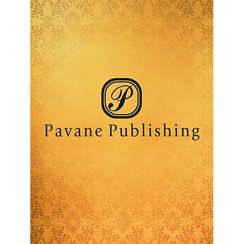 Pavane I Will Sing Praises SATB Composed by Allan Robert Petker
