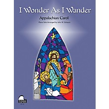 SCHAUM I Wonder as I Wander Educational Piano Series Softcover